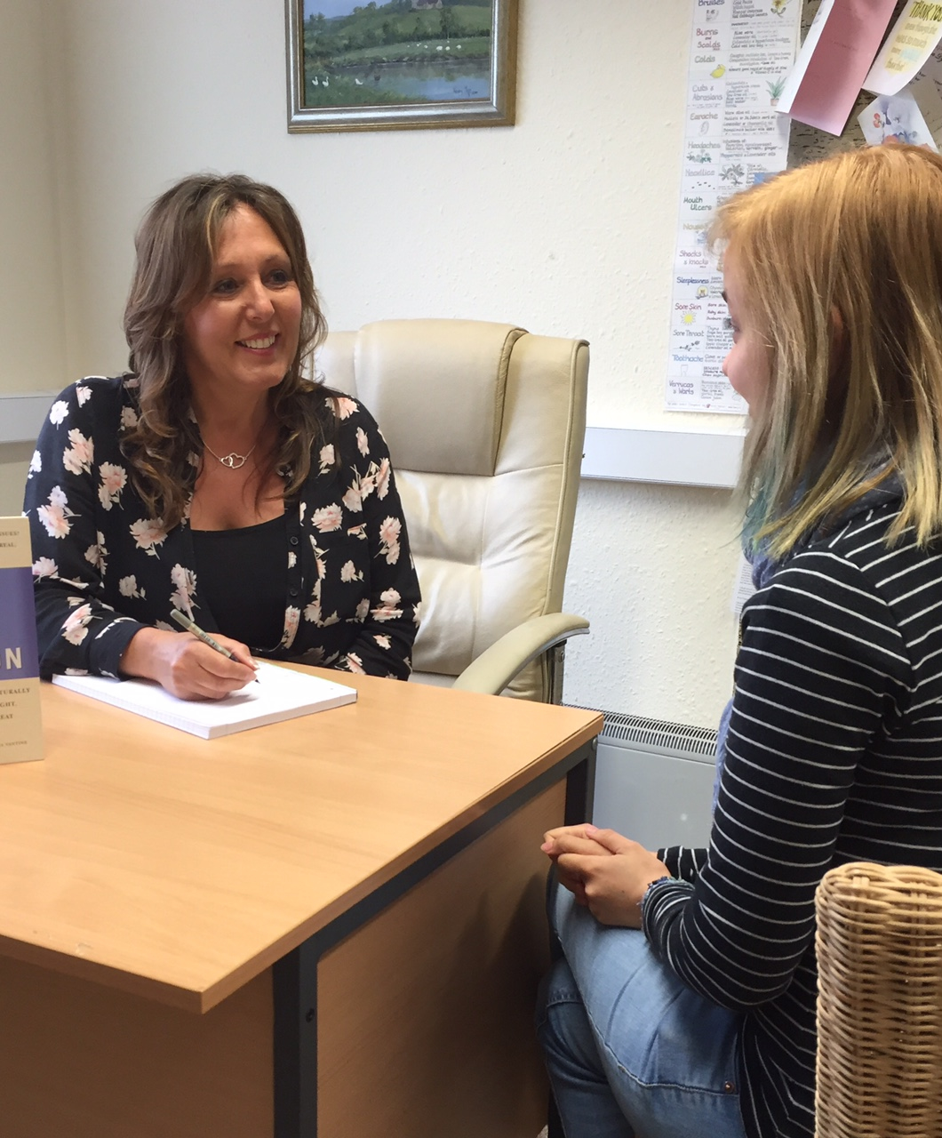 Caroline Sproule at Bromsgrove Allergy